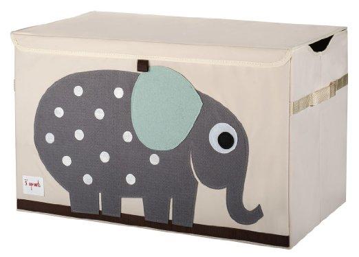 3 Sprouts Storage, Toy, Organizer bins! Owl, Fox, LION & Elephant!!