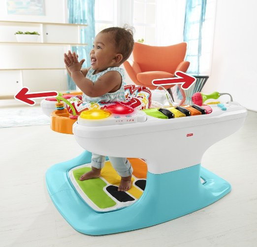 Fisher-Price 4-in-1 Step 'n Play Piano – Only $97.49 (reg. $129.99)