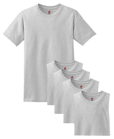 Amazon: Hanes Comfort Soft Crew-Neck T-Shirt (Pack of 5)  Only $10.58!!