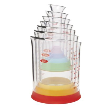 Amazon: BEST PRICE: OXO Good Grips 7-Piece Nesting Measuring Beaker Set – Only $14.99!!