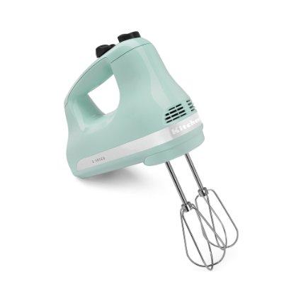 KitchenAid KHM512IC 5-Speed Ultra Power Hand Mixer, Ice Only $31.99 (reg. $60)