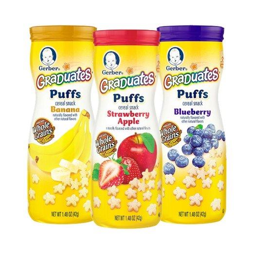Amazon: 35% off Coupon for Gerber Graduates Puff & Crunchies!!