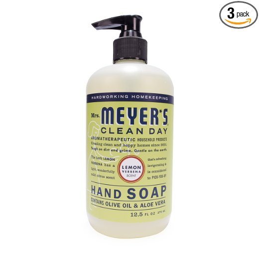 Amazon: 3 Pack of Mrs. Meyer's Clean Day Dish Soap 16 Fluid Oz bottles – Only $7.99 – just $2.66 per bottle!
