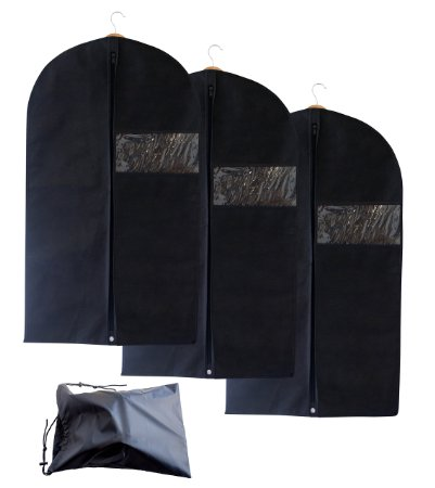 Amazon: 50% off!! Set of 3 Breathable Garment Bags with Shoe Bag!!