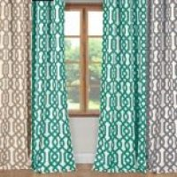 Trendy Blackout Geometric Curtains | Set of 2 - only $19.99 for the set!