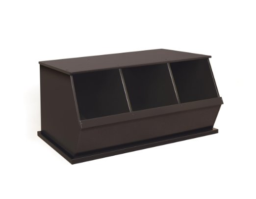 Price Drop!! Three Bin Storage Cubby, Espresso  Only: $62.09 (reg. $100!!)