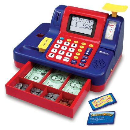 Amazon: Learning Resources Teaching Cash Register – Only: $24.14 (reg. $59.99)!!
