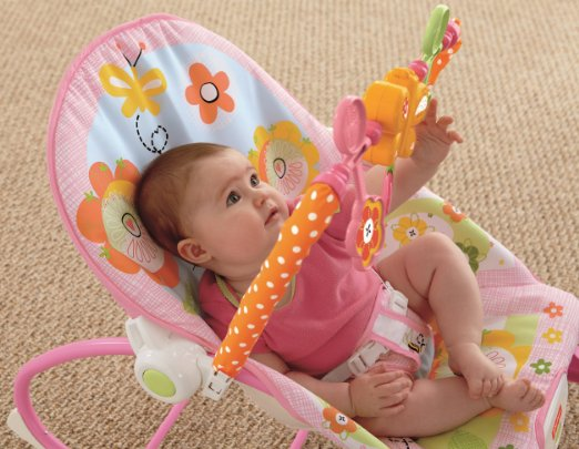 Amazon: Fisher-Price Infant To Toddler Rocker, Bunny Only $24.88 (reg.$40)