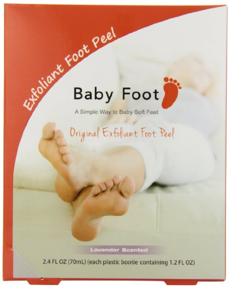 Baby Foot Deep Exfoliation For Feet peel, lavender scented – only $17.99 (reg. $25!!)