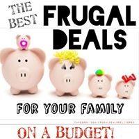 Frugal Deals Delivered; As We GROW!