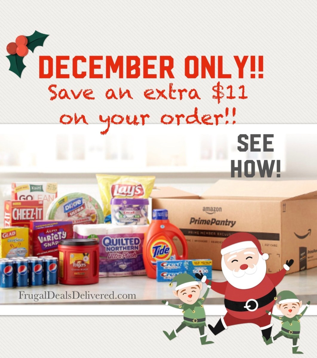 Prime Pantry - *BEST FRUGAL DEALS* for December!