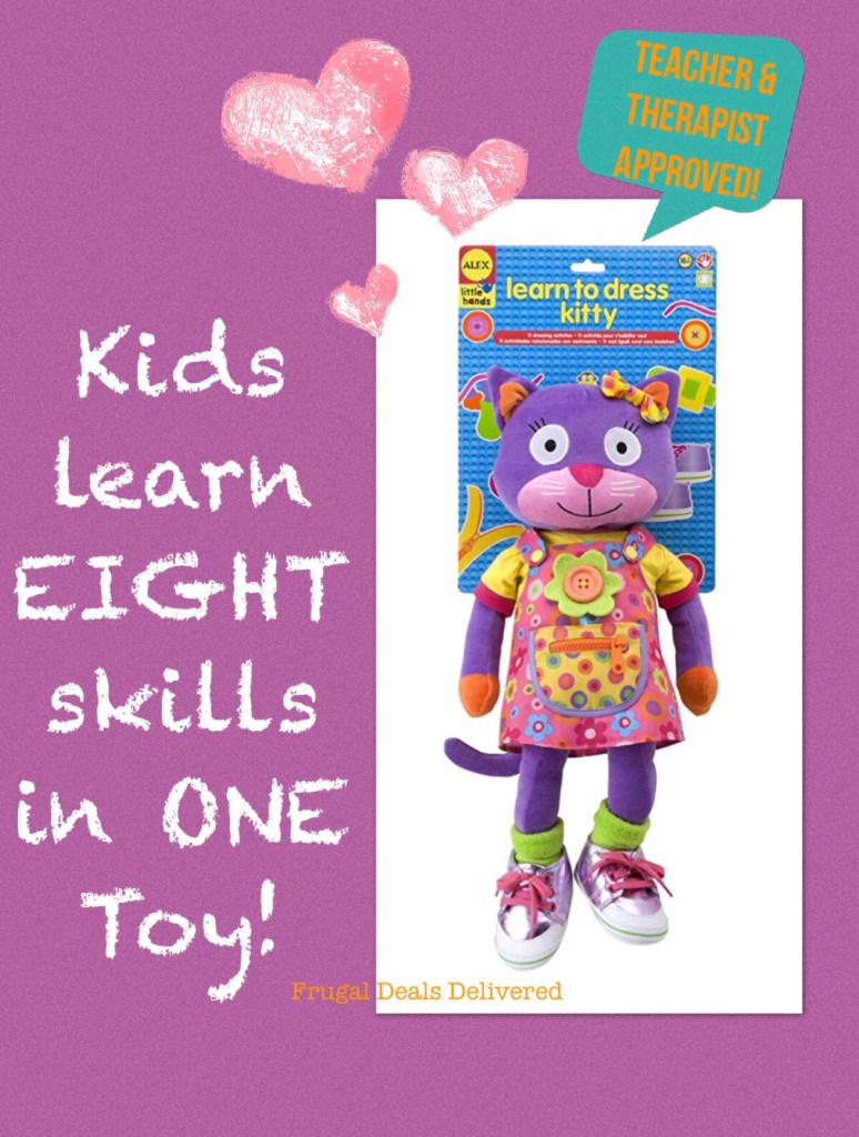 Learn EIGHT Different Fine Motor & Pre-school skills in ONE TOY!!