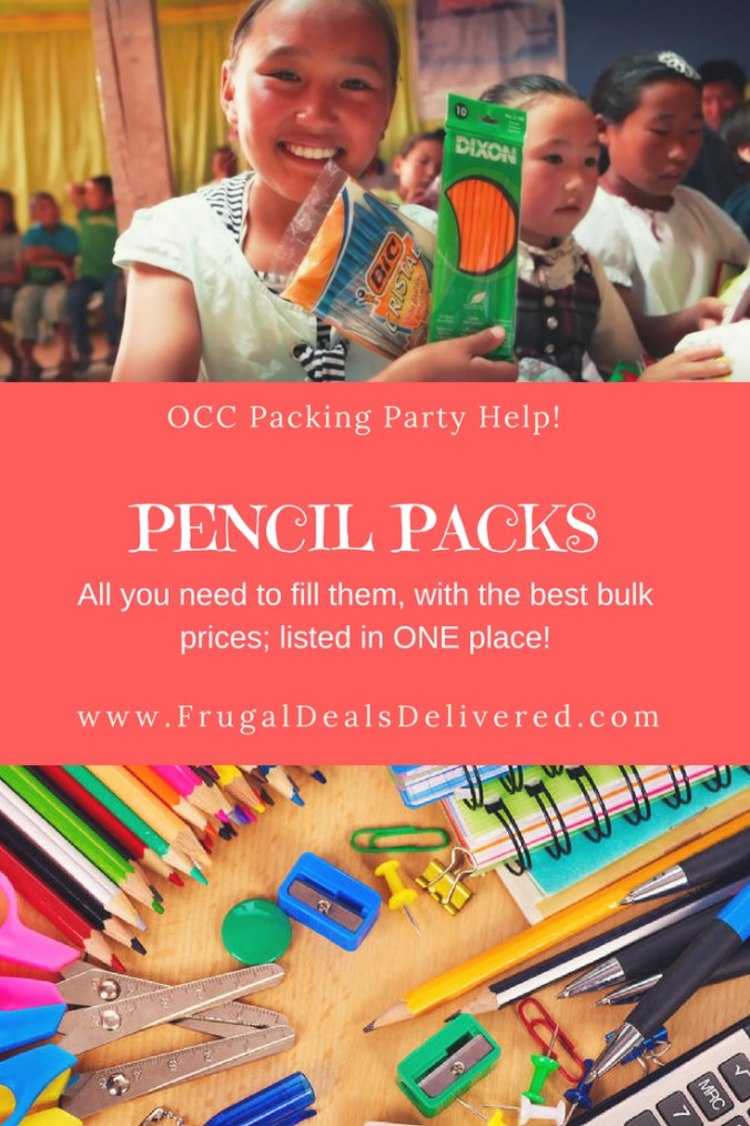 pencil packs all you need to bulk order listed in one place
