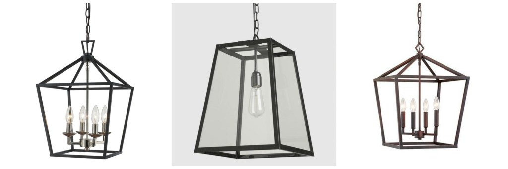 Black Iron Pendant Light, Candlestick Pendant Light, Entry light