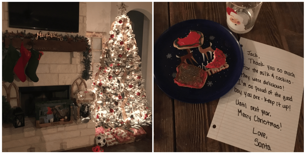 Christmas Eve, Milk and Cookies, Ready for Santa