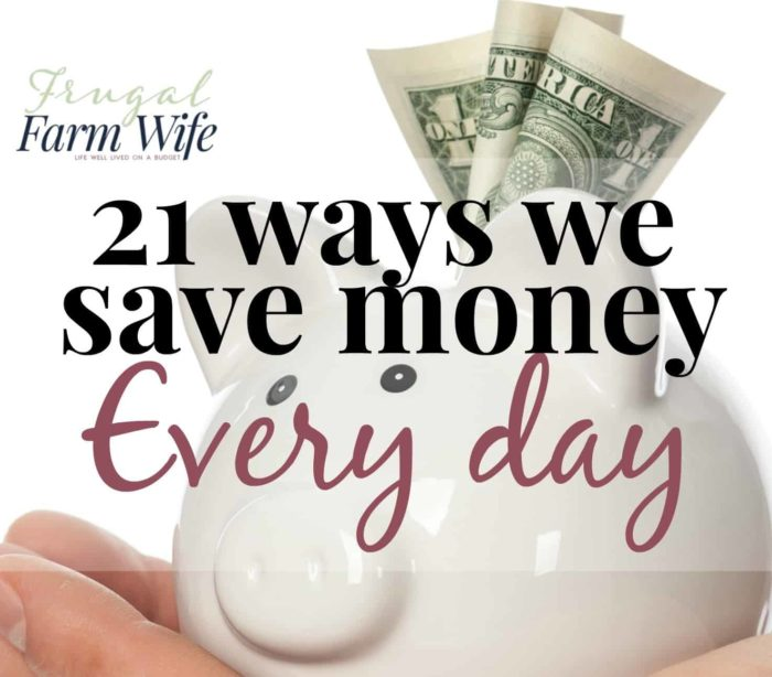 Ultimate List Of Household Money Saving Tips The Frugal Farm Wife
