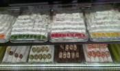 trays of multicoloured Turkish delight