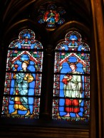 stained glass window Ste Chapelle Paris