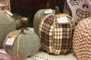Fabric pumpkins on clearance - Frugal Mom's Guide To After-Holiday Shopping - Halloween Deals