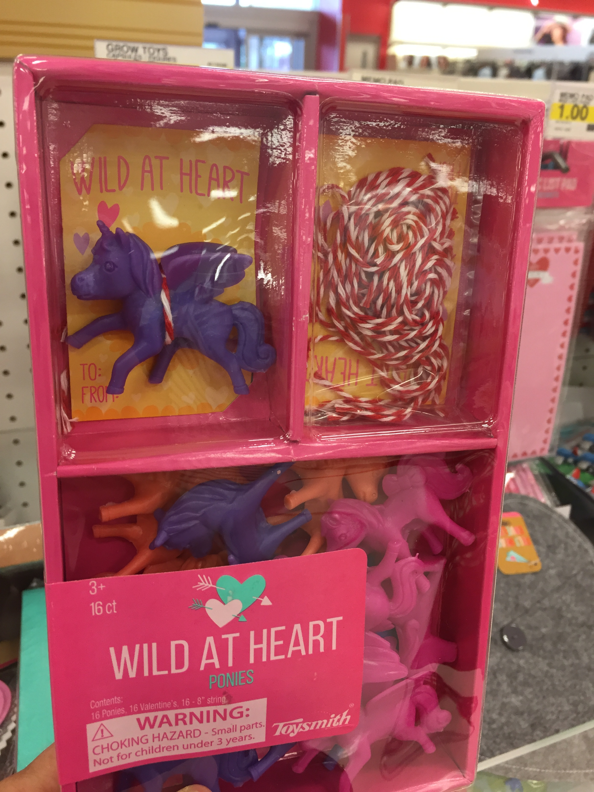 plastic pony valentines - 12 Candy Free Valentines For Classmates And Teachers