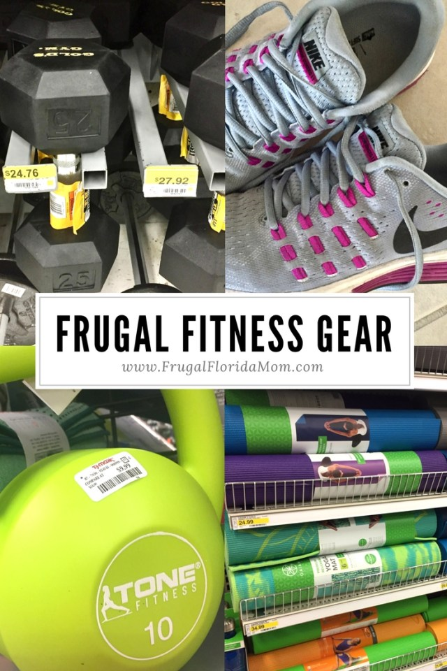 frugal fitness gear