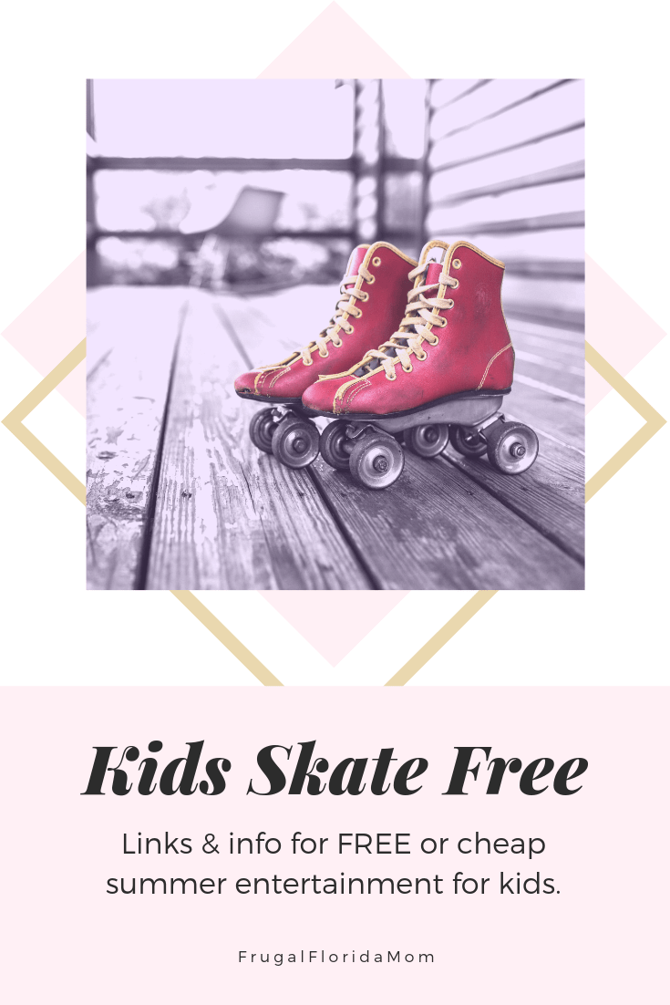 Kids Skate Free - Free Summer Activities For Kids