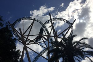 Roller coaster at Busch Gardens Tampa Florida - Theme Park Survival Guide