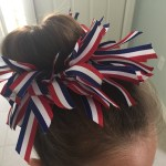 Patriotic Ponytail Holder