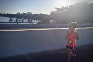 Young girl running 5K - My Daughter Was Born Fearless - I'm Just Trying Not To Screw It Up