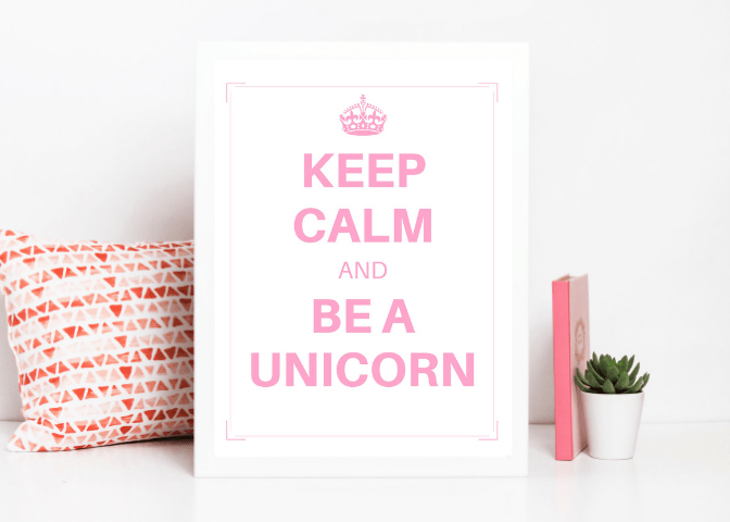 Unicorn Birthday Party Printables - Giant Bundle!