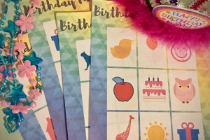 Birthday Party Game Printables With Birthday BINGO