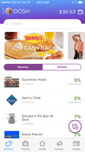 Dosh is the easiest and best rebate app for travel and dining. With rebates on online shopping too. Ge real cash back fast and save more money.