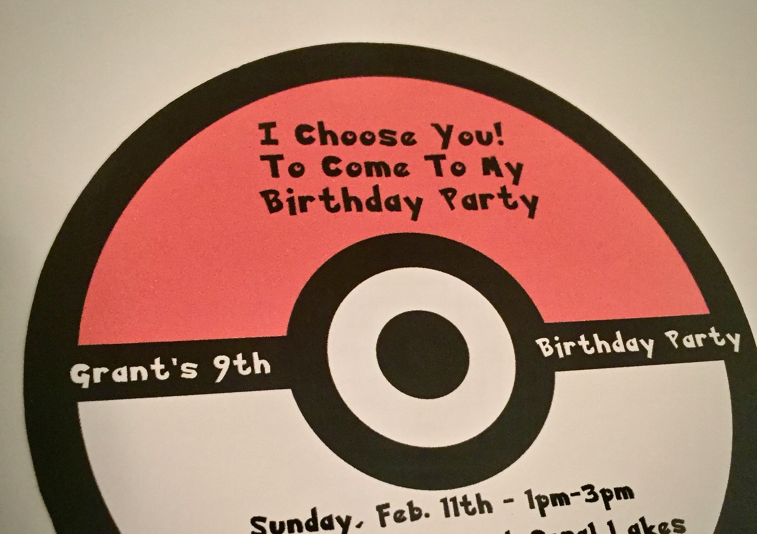 photograph relating to Free Printable Pokemon Birthday Invitations referred to as Pokemon Birthday Get together Options Printables - Frugal Florida Mother