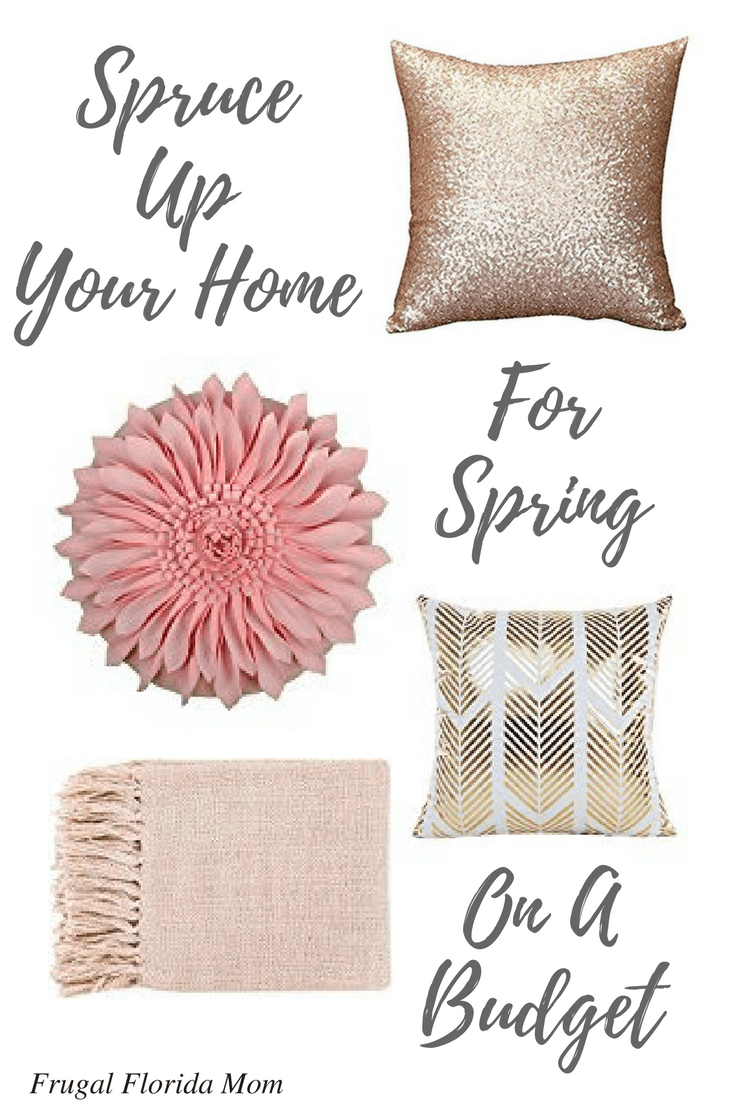 Spruce Up Your Home For Spring On A Budget