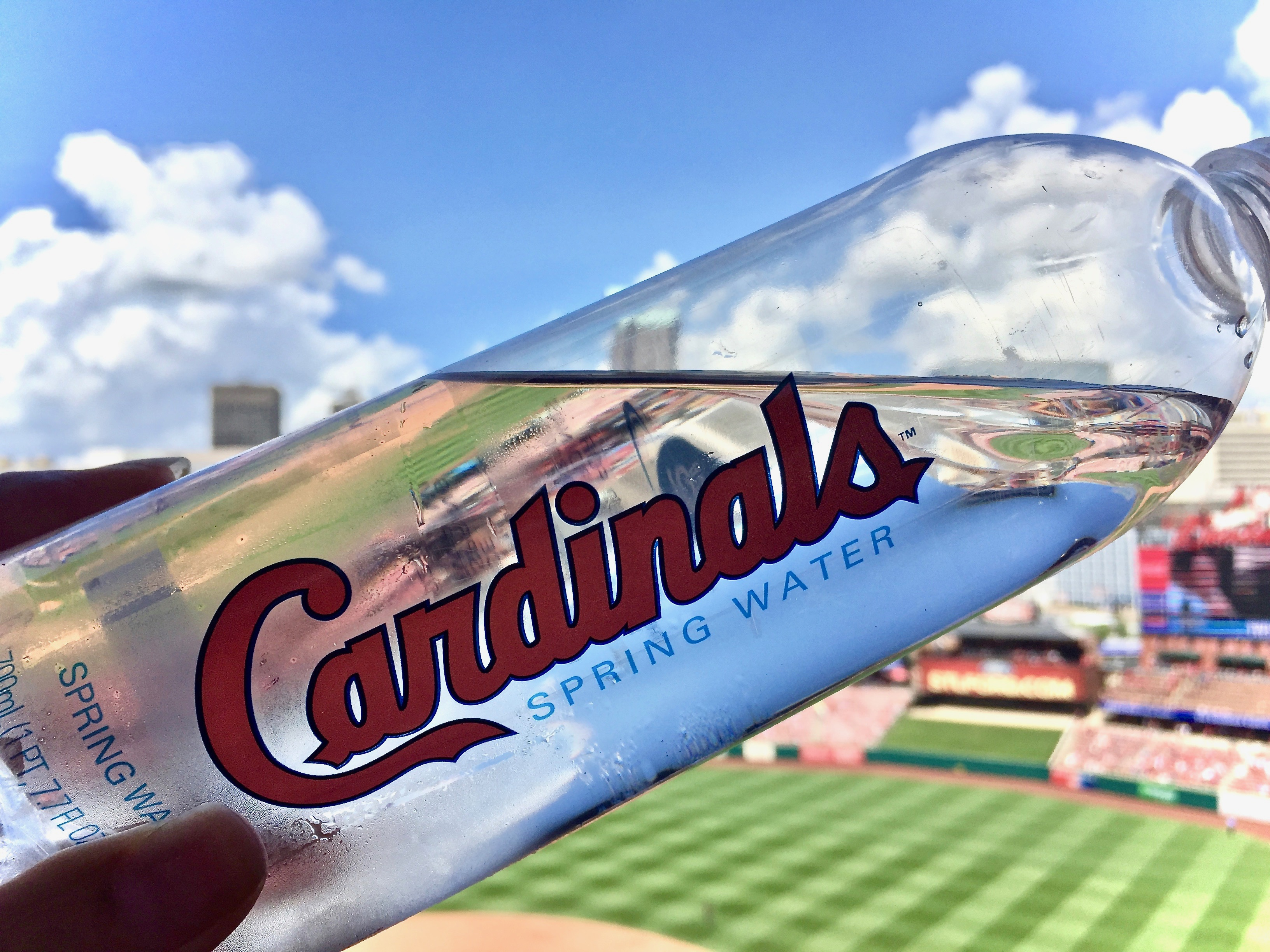 Photo of water bottle at MLB baseball ballpark - Take Me Out To The Ballgame... But Don't Take All My Money