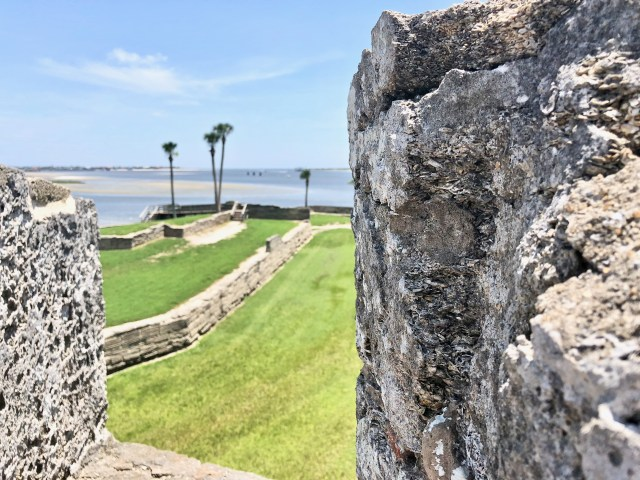 Castillo de San Marcos fort - Falling In Love With St Augustine