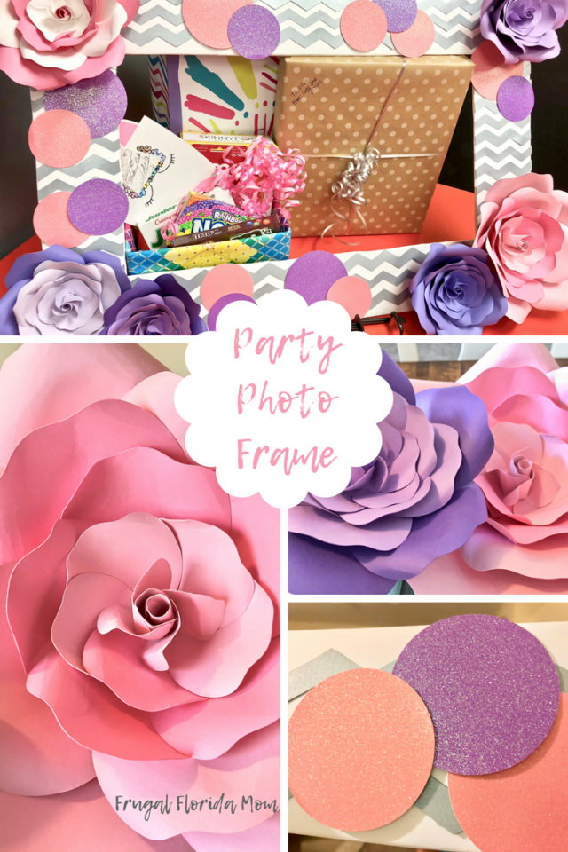 Party Photo Frame - Pretty Pusheen & Cupcake Party Ideas