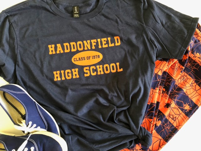 Haddonfield High School t-shirt - Classic Horror Movie Shirt Designs With SVGs