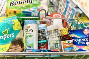 Products in shopping cart - Get Easy Cash Back On P&G Products At Publix