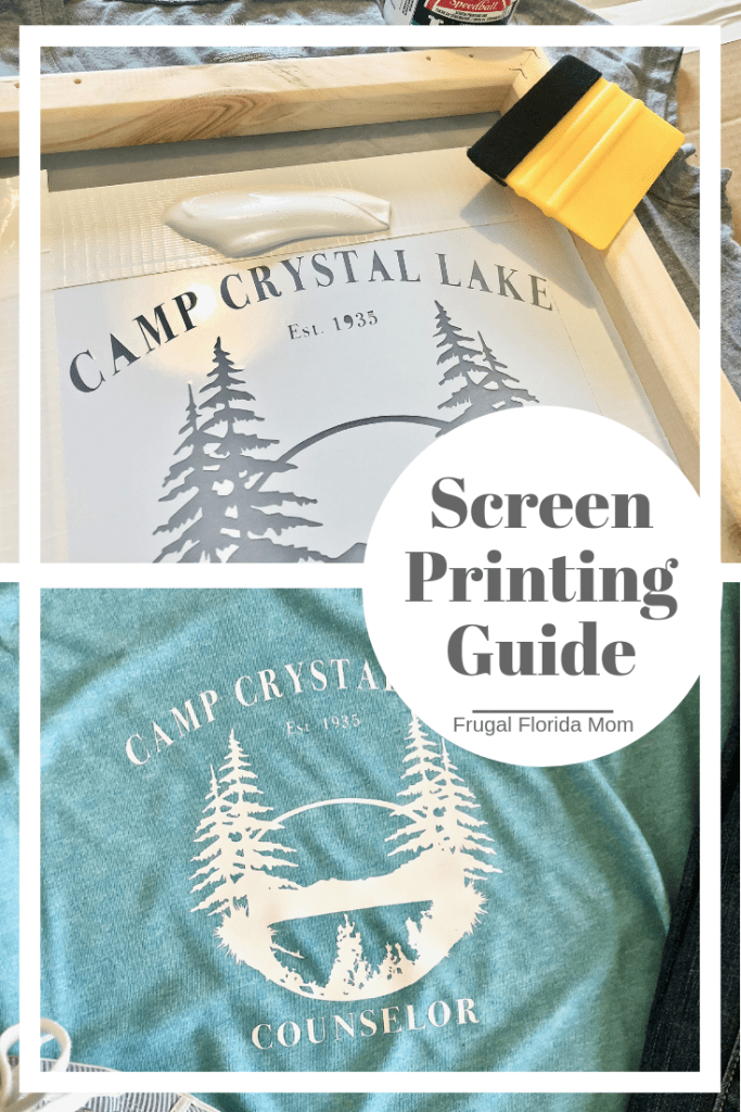 Screen Printing With Your Cricut Or Silhouette - Easy To Follow How To Guide