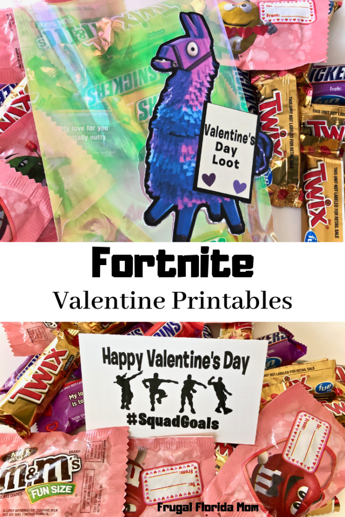Fortnite Valentine Printables