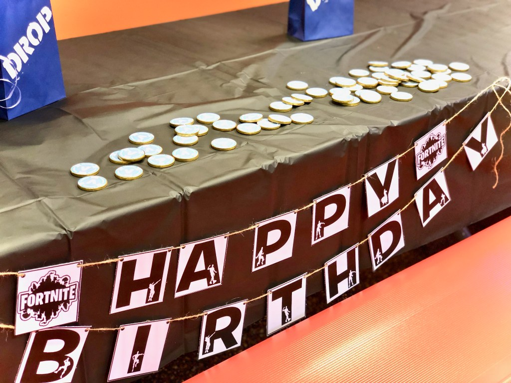Fortnite Happy Birthday Banner - Fortnite Birthday Party Ideas & Printables