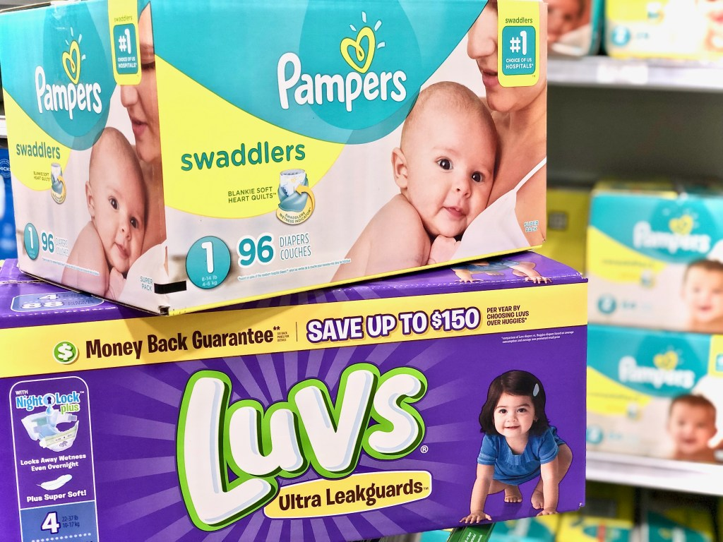 Pampers & Luvs Diaper savings - Everyday Savings On P&G Products At Publix