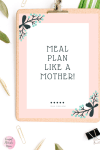 Meal Plan Like A Mother!