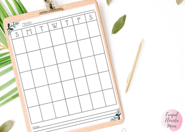 Printable Meal Planning Calendar - 20-Page Plan Like A Mother! Printable Bundle