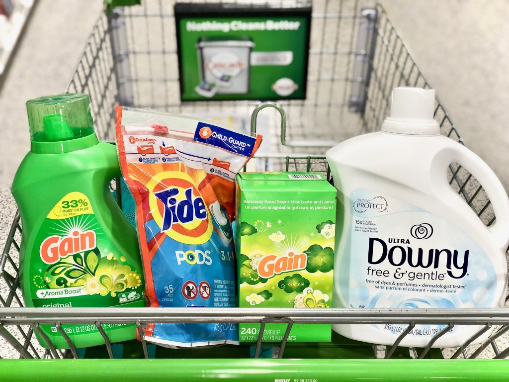 Laundry supplies - Simplify Your Savings With P&G & Publix
