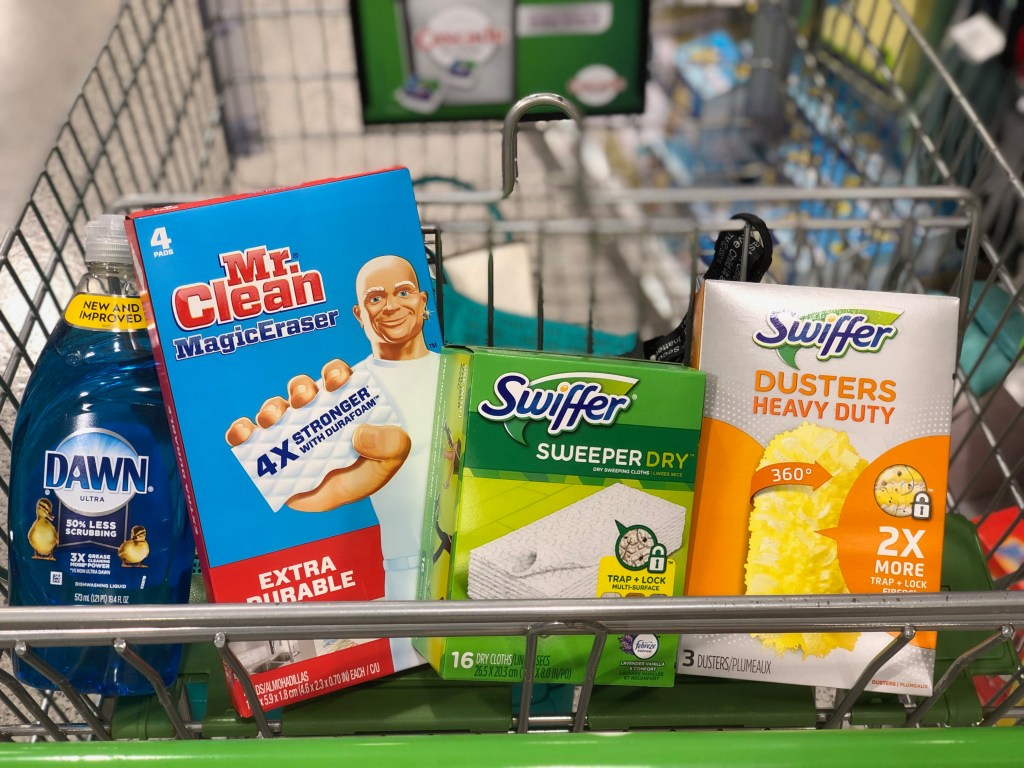 Cleaning supplies - Simplify Your Savings With P&G & Publix
