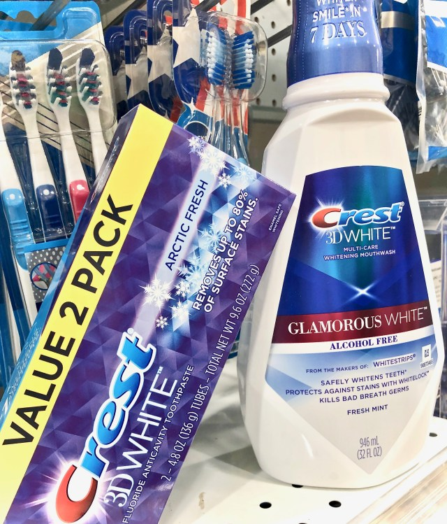 Crest toothpaste and mouthwash - Simplify Your Savings With P&G & Publix