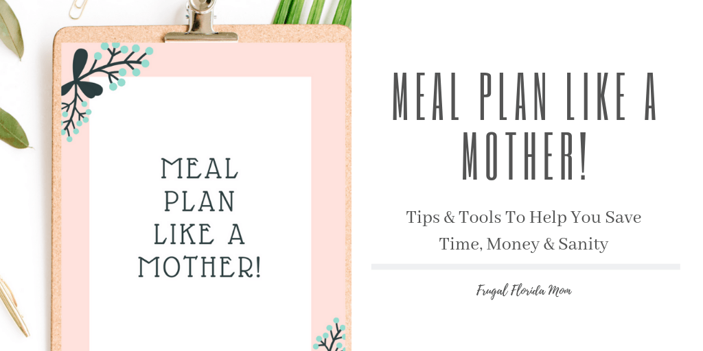 Meal Plan Like A Mother! printable meal planning worksheets - 20-Page Plan Like A Mother! Printable Bundle