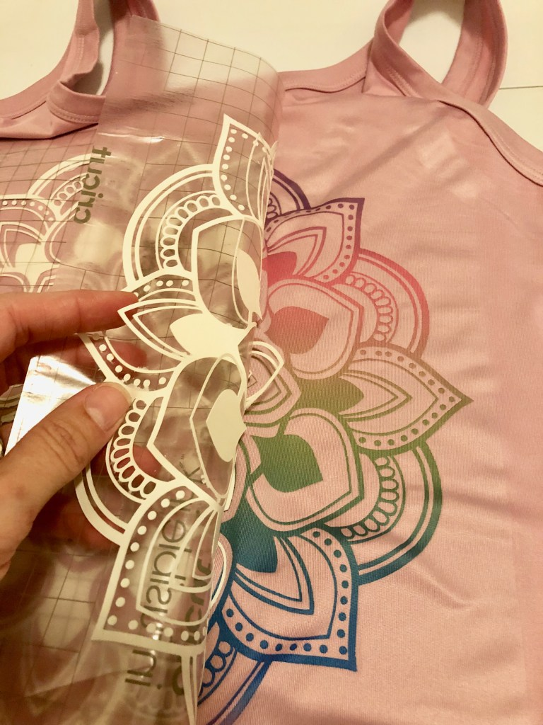 Cricut Infusible Ink - Cotton and othered fabrics after washing and drying